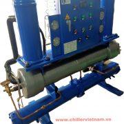 chiller 30HP nước( máy ở xưởng)